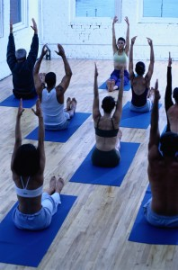 Yoga classes are popular with women and a growing number of men. Photo courtesy of YMCA of Delaware