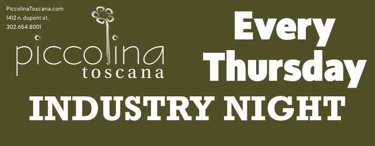 Industry Night at PiccolinaToscana