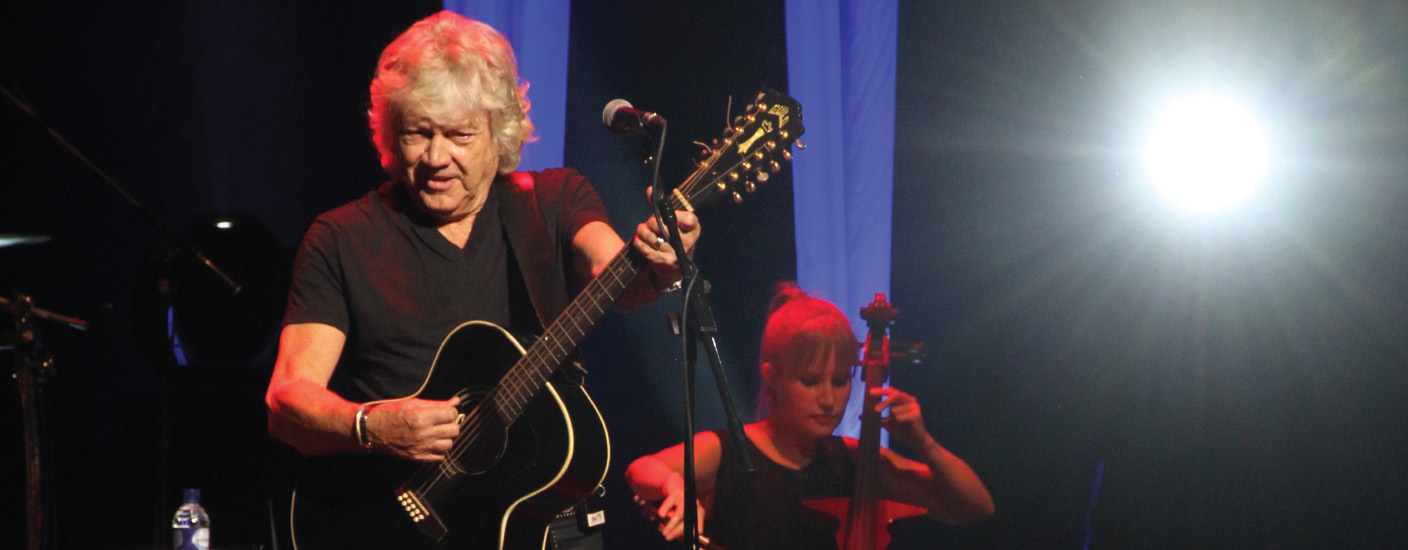 For The Record With John Lodge Out About Magazine